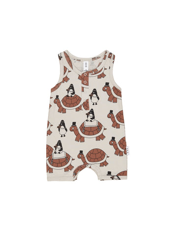 HUXBABY TURTLE TOUR SLEEVELESS
