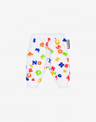 MOSCHINO MINI ME LETTERS SWEATPANTS