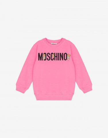 MOSCHINO HIDING BEARS SWEATSHIRT