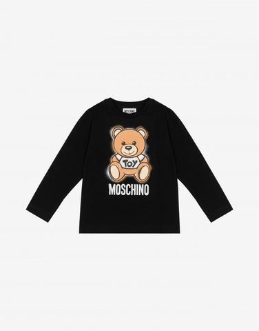 MOSCHINO BEAR LONG TEE
