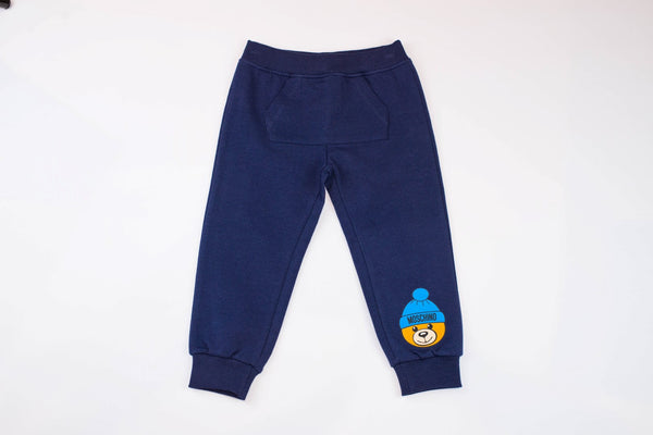 MOSCHINO BABY SWEATPANTS WITH FRONT POCKET