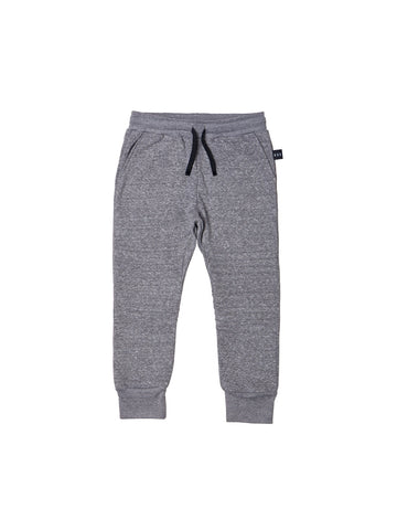 HUXBABY CHARCOAL EDGE TRACK PANT