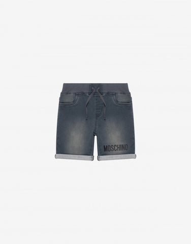 MOSCHINO DENIM SHORTS