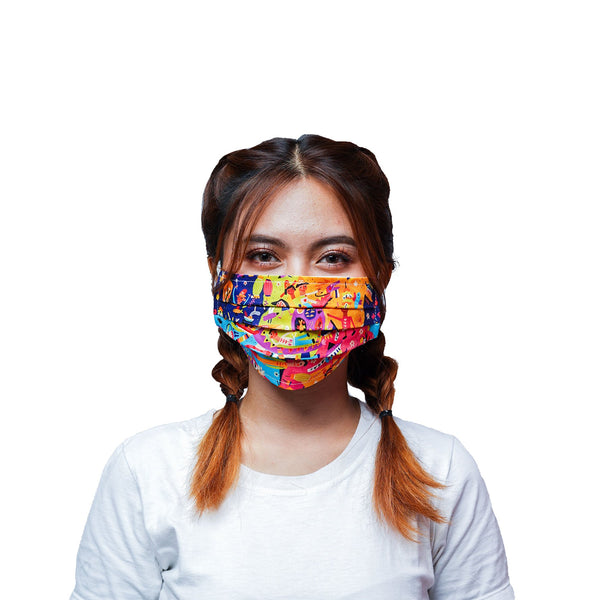 Diversity Cover Mask Water Repellent - LuckyCla