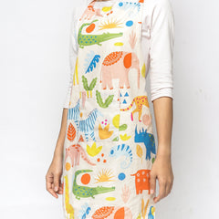 Zoo Set Apron