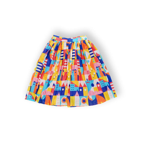 Hometown Pleats Skirt - LuckyCla