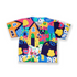 Animal Kids V-Neck Top - LuckyCla