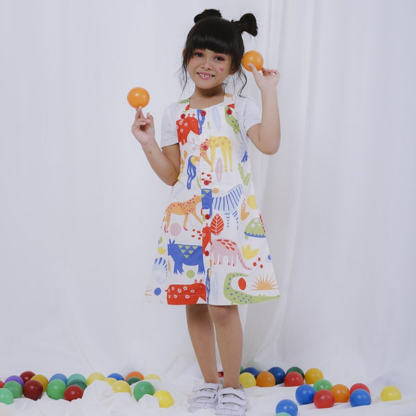 When in The Zoo Kids Overall Suit - LuckyCla
