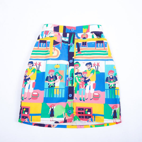 Happy Family Kids Baby Skirt - LuckyCla