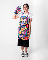 Neon Flow Set Apron