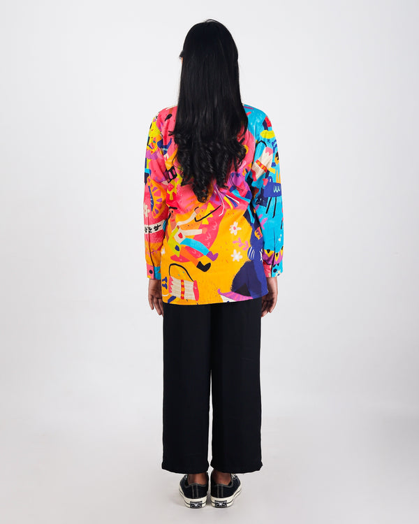 Diversity Long Shirt - LuckyCla