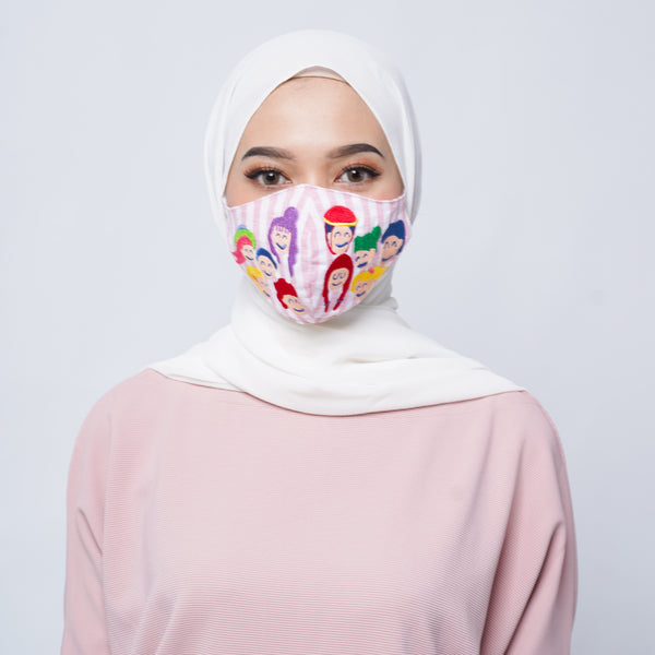 Happy Family Face Mask - LuckyCla