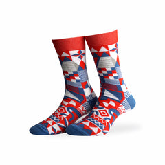 House of Socks - Retro Geometri Gaia Socks
