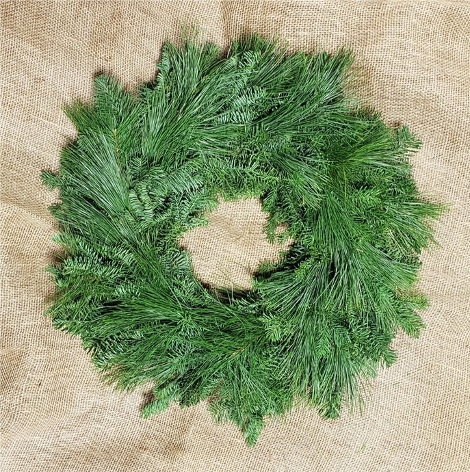 Mixed White Pine/Fraser Wreaths