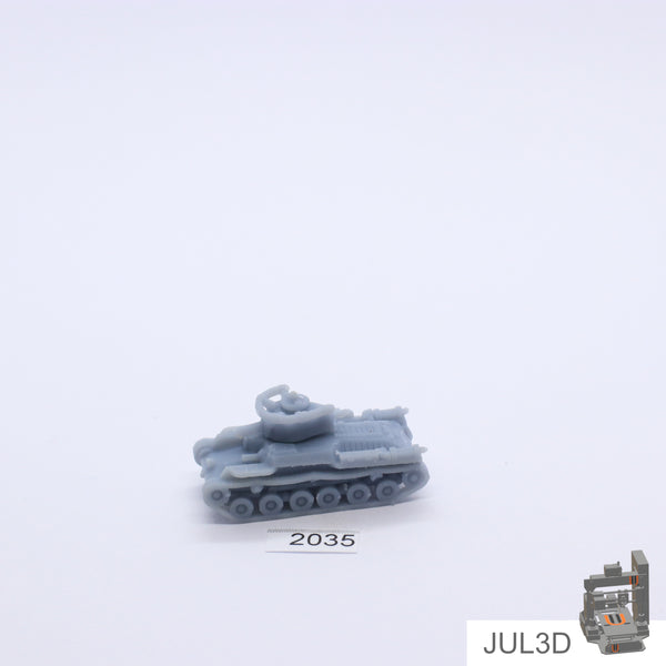 Chi-Ha 1/160 - JUL3D Miniatures