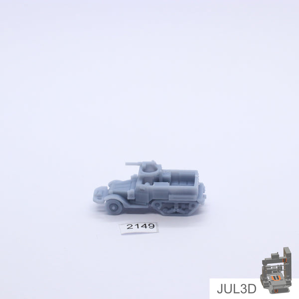 Halftrack M2A1 1/200 - JUL3D