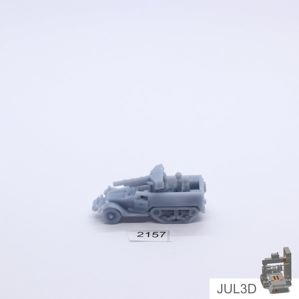 Halftrack M3 GMC 1/100 - JUL3D Miniatures