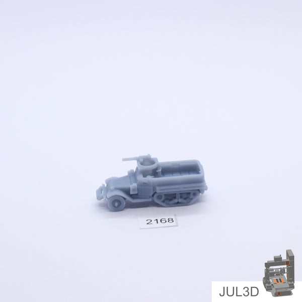 Halftrack M5A1 1/100 - JUL3D Miniatures