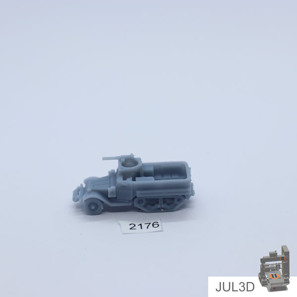 Halftrack M9A1 1/200 - JUL3D Miniatures