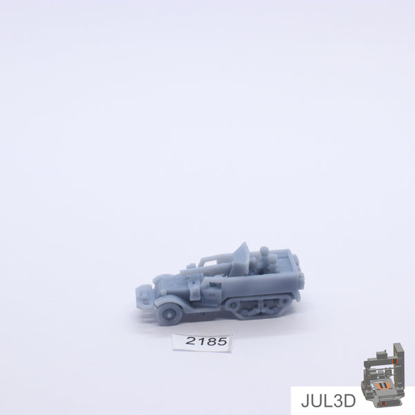 Halftrack SU-57 1/100 - JUL3D Miniatures