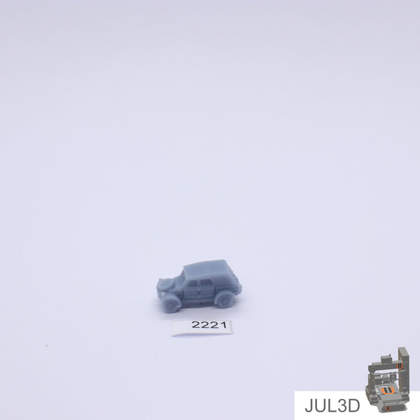 Kubelwagen 1/200 - JUL3D Miniatures