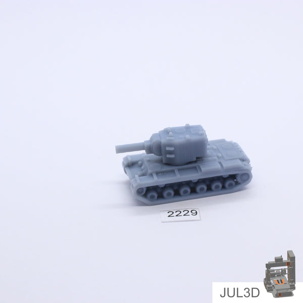 KV-2 1/100 - JUL3D Miniatures