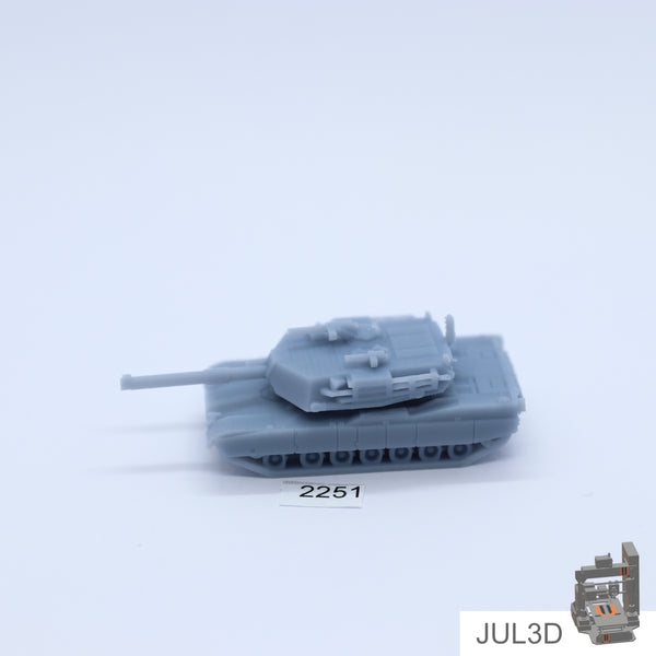 M1 Abrams 1/200 - JUL3D Miniatures