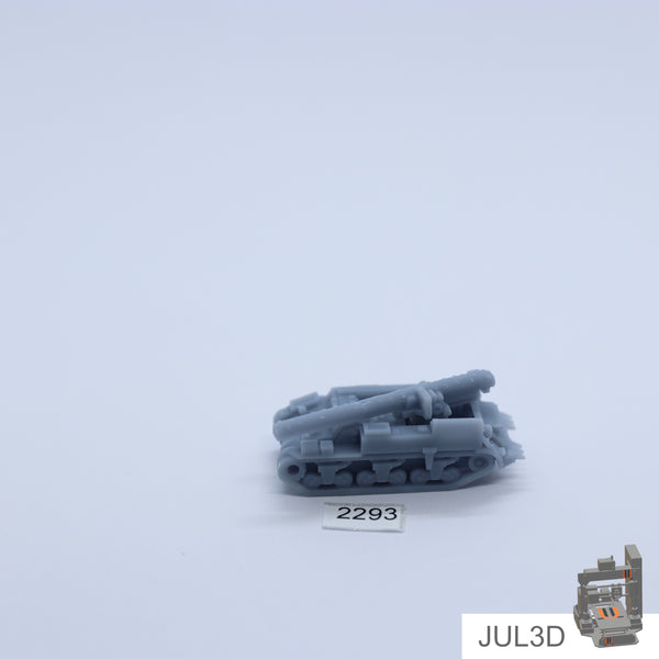M12 155mm GMC 1/220 - JUL3D Miniatures
