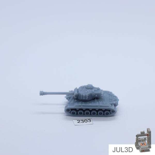 M26 Pershing 1/160 - JUL3D Miniatures