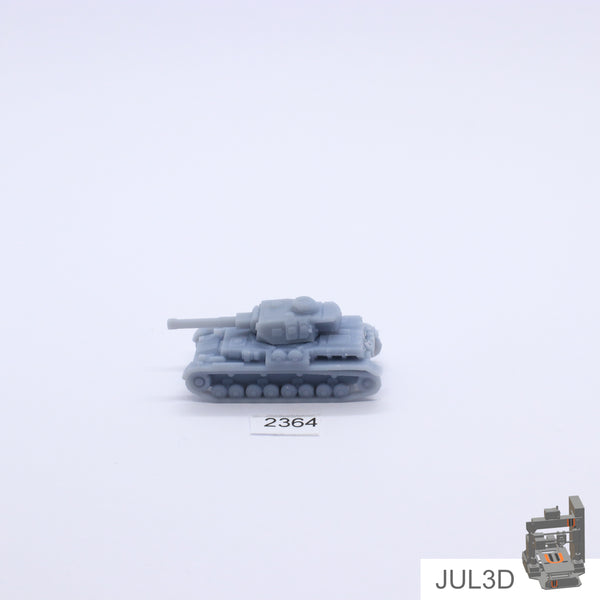 PzKpfW IV - F 1/200 - JUL3D Miniatures