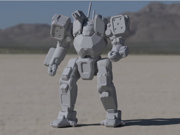 ACH-Prime Arctic Cheetah for Battletech - JUL3D Miniatures
