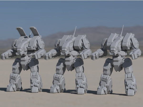ARC-1A Archer for Battletech - JUL3D Miniatures