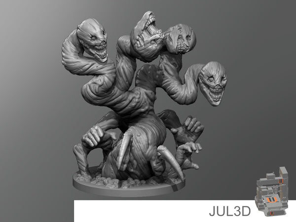 Adolescent false hydra - JUL3D Miniatures