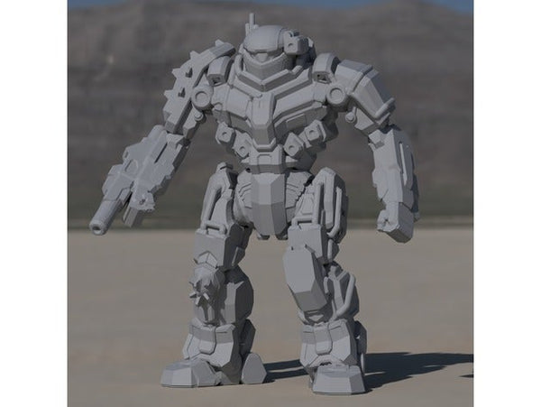 BL6-KNT Black Knight for Battletech - JUL3D Miniatures