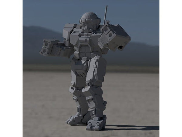 "COM-TDK Commando ""The Death's Knell"" for Battletech - JUL3D Miniatures"