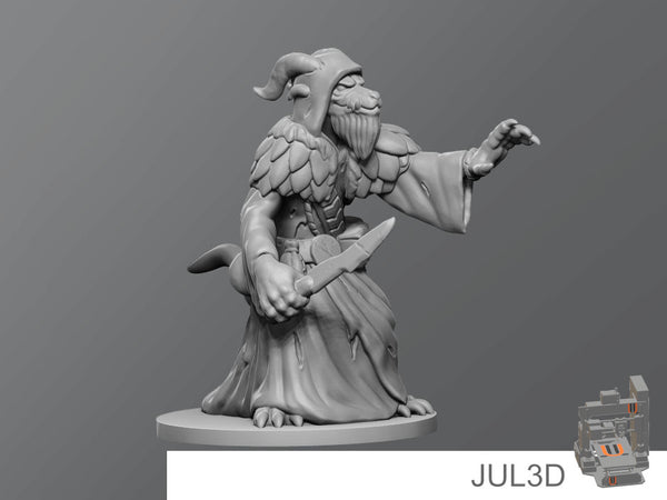 Dragontouched kobold - JUL3D Miniatures