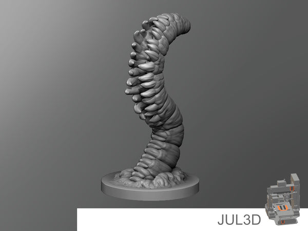 Fang worm - JUL3D Miniatures