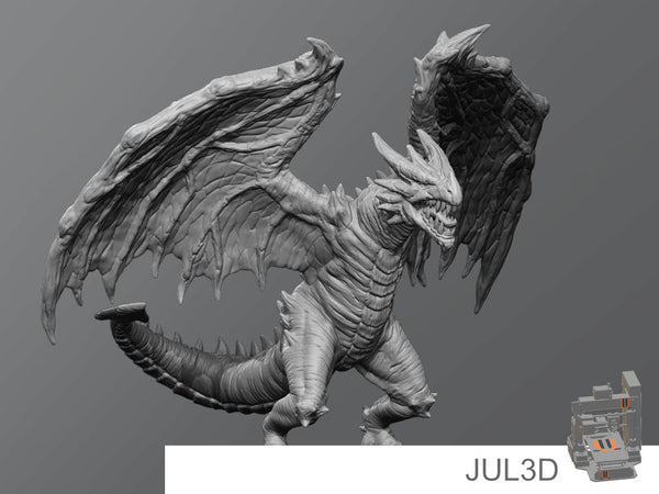 Forest drake - JUL3D Miniatures