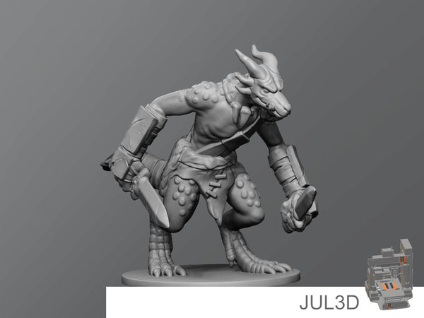 Kobold3 - JUL3D Miniatures