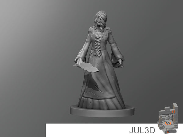 Medieval Bloody Mary - JUL3D Miniatures