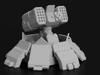 Missile Turret for Battletech - JUL3D Miniatures