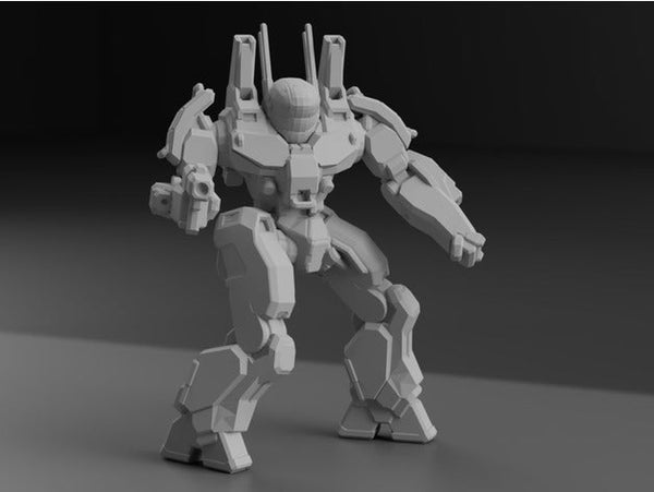 PXH-1D Phoenix Hawk for Battletech - JUL3D Miniatures