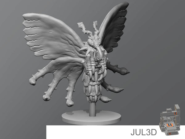 Poison butterfly - JUL3D Miniatures