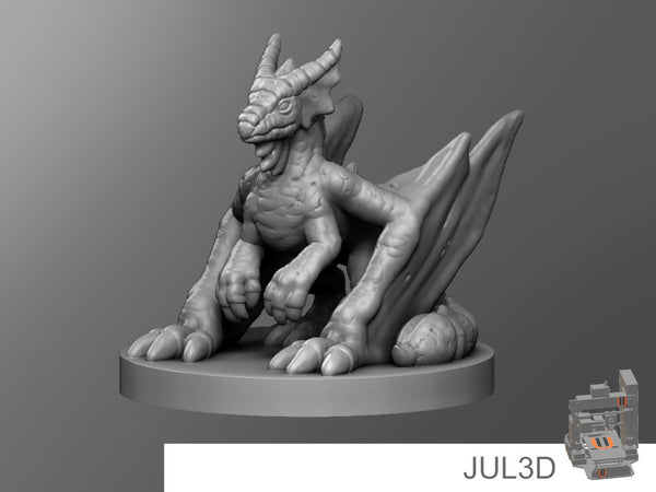 Pseudo Dragon - JUL3D Miniatures