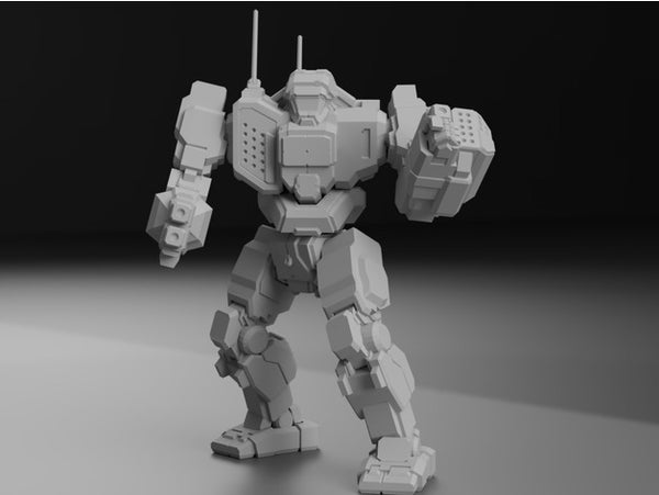 TBT-5N Trebuchet for Battletech - JUL3D Miniatures