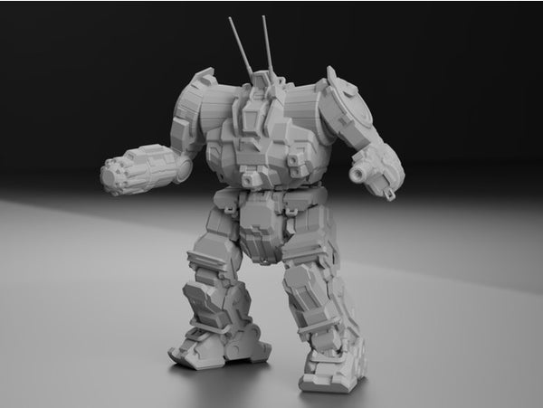 ZEU-5T Zeus for Battletech - JUL3D Miniatures