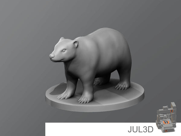 Badger - JUL3D Miniatures