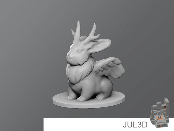 Wolpertinger Resin Miniature - JUL3D Miniatures