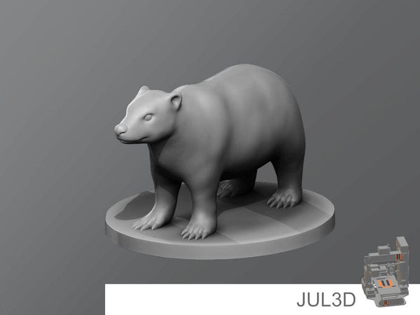 Badger Resin Miniature - JUL3D Miniatures