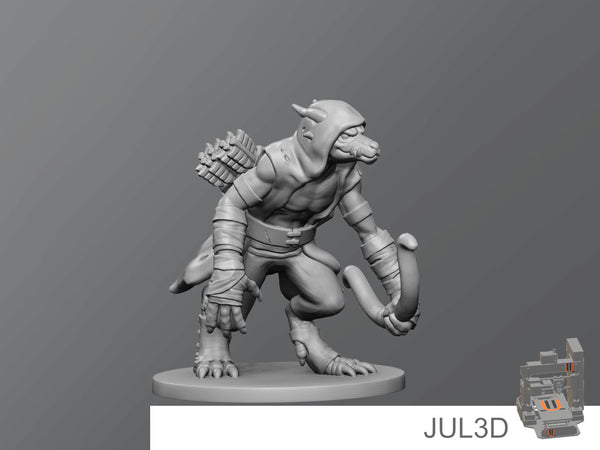 Kobold Skirmisher - JUL3D Miniatures